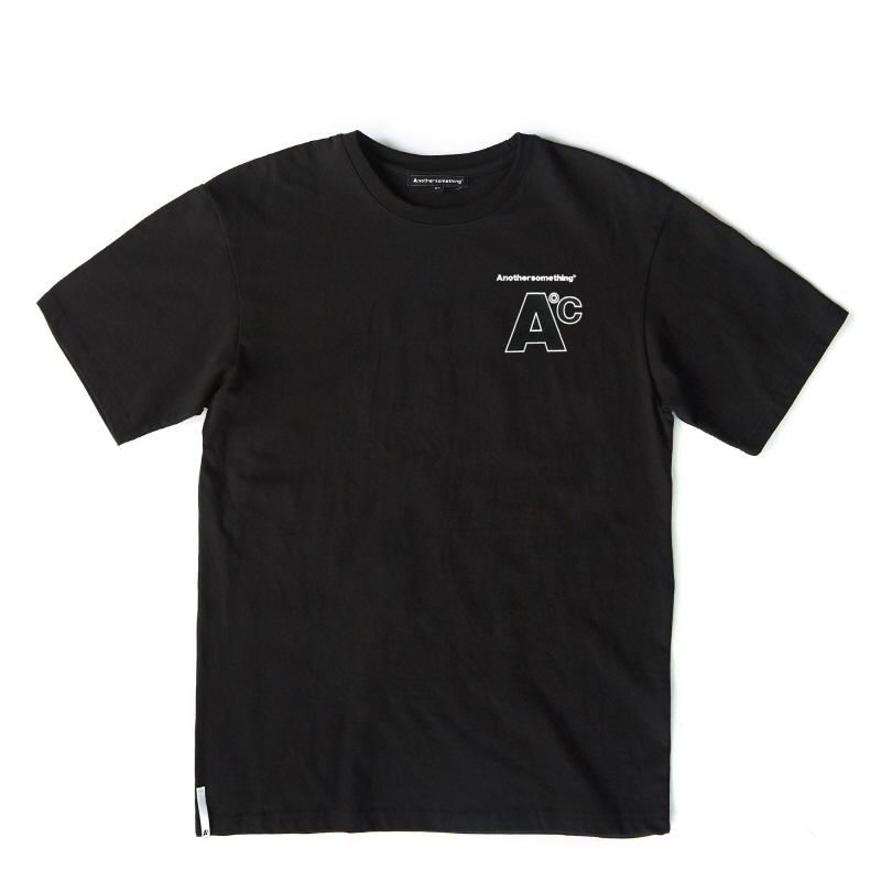 Basic small logo T-shirts - Black