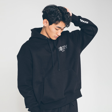 society world hoody Black