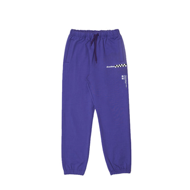 another something mosaic pants Purple