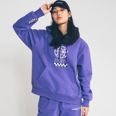 society globe hoody Purple